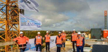 Hoogste punt bereikt nieuwbouw Leiden
